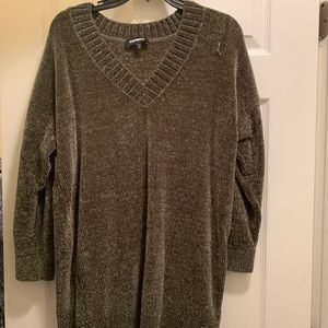 Express Small Tunic Olive Green S